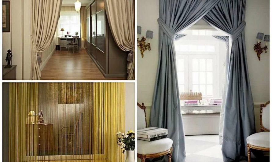 Как повесить шторы, занавеси, картины и ковры