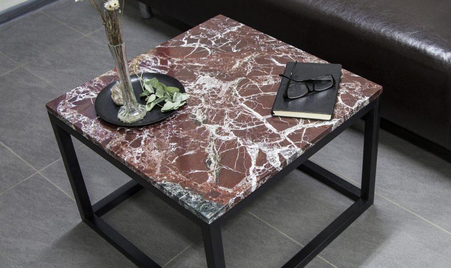 Декоративные мраморные столики для интерьера