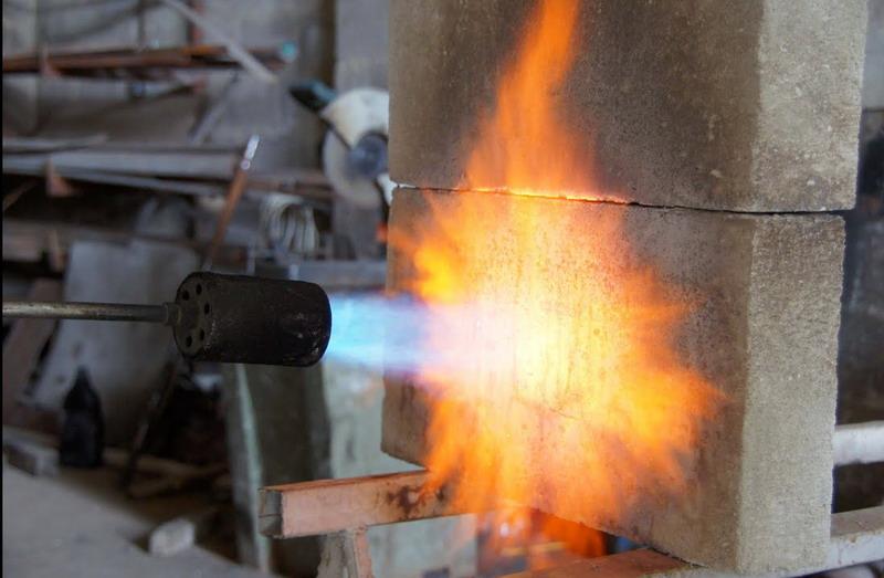 Огнестойкость газобетонных домов