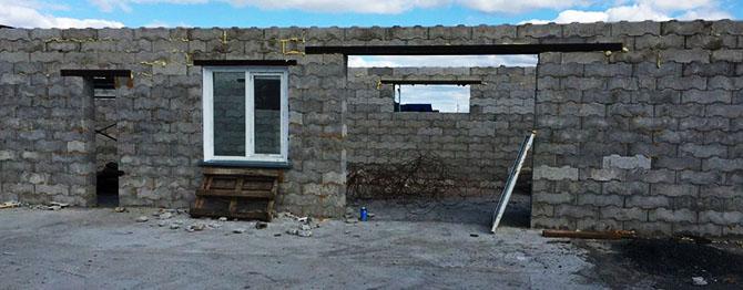 Стены из газобетона не пропускают огонь напрямую